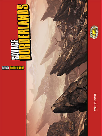 Savage Borderlands Cover for professional printing